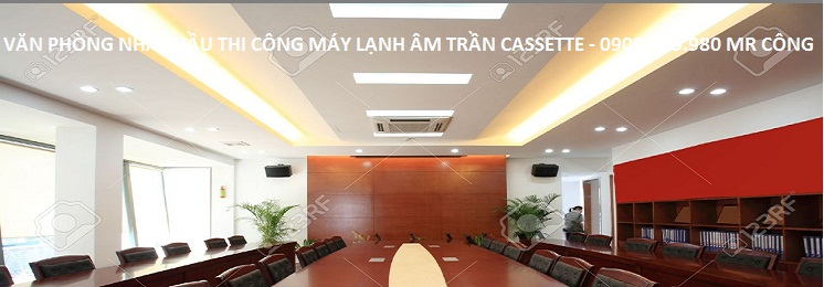may lanh am tran cassette
