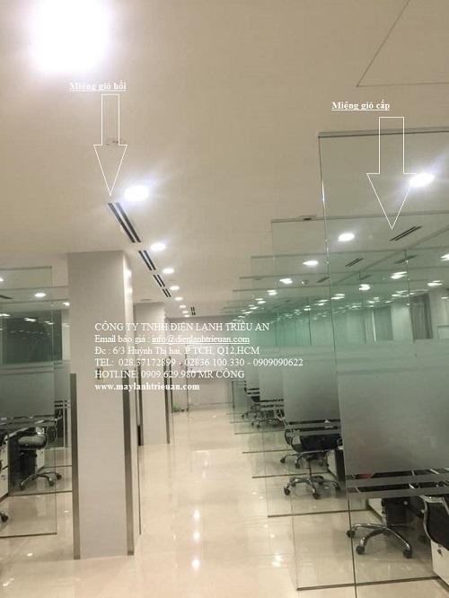 Chuyên thiết kế lắp đặt máy lạnh âm trần ống gió cho văn phòng, showroom, căn hộ đẳng cấp nhất - www.TAICHINH2A.COM