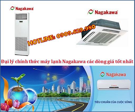 Nhà thầu cung cấp Máy lạnh hàng Việt giá rẻ nhất - Máy lạnh Nagakawa