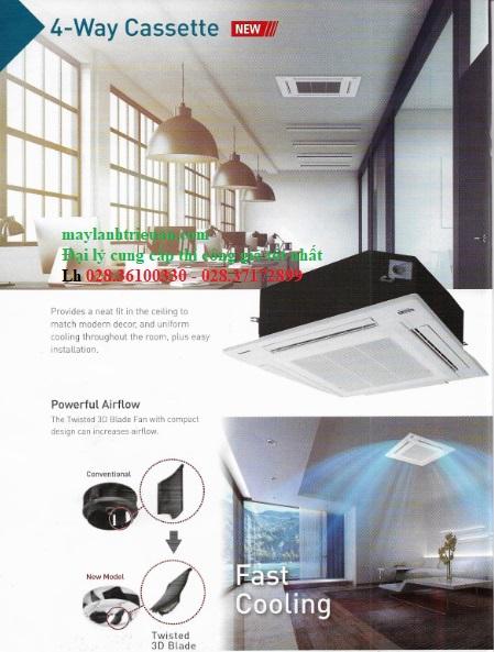 Điện lạnh Triều An phân phối chính hãng máy lạnh âm trần Panaosonic inverter