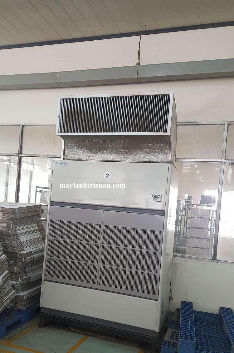 Kết quả hình ảnh cho máy lạnh tủ đứng nối ống gió