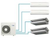 Bảng giá máy lạnh multi daikin inverter Gas R410