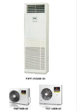 Thi công máy lạnh tủ đứng Mitsubishi Heavy 5hp trọn gói Quận 5