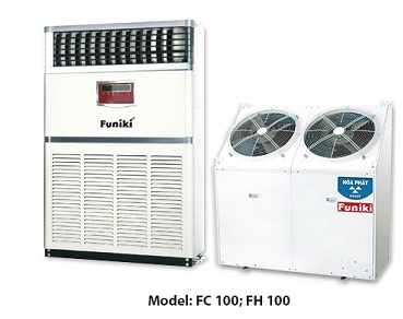 Lắp máy lạnh tủ đứng 10hp fukini giá chỉ 64.000.000