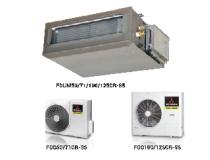 Máy lạnh giấu trần ống gió Mitsubishi Heavy FDUM100CR-S/FDC100CR-S - Gas R410